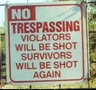 violators will be violated
